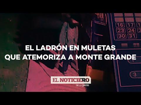 EN MULETAS, UN MENOR DE EDAD NO PARA DE ROBAR EN MONTE GRANDE - #ElNotiDelaGente