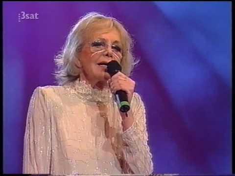 Hildegard Knef  Drei Songs  - Birke - Bergab - Rote Rosen