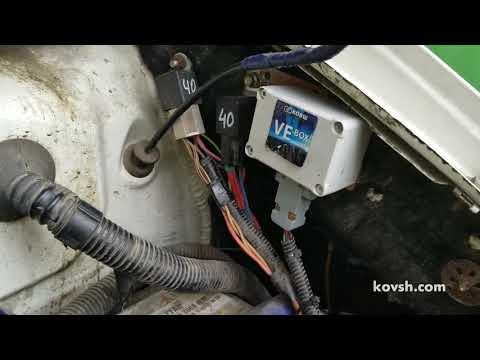 Фото к видео: Как и почему рекомендуем переносить топливный фильтр на Volkswagen Transporter T4 2.5d, ACV