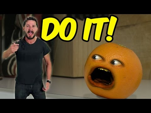 Annoying Orange - Shia LaBeouf Motivates the Kitchen