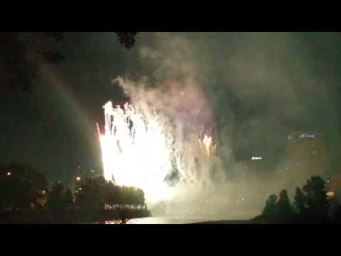 Princess Island Park fireworks display