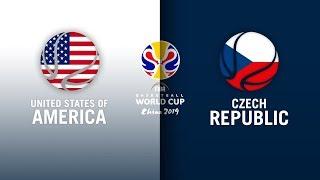 USA v Czech Republic - Full Highlights | FIBA Basketball World Cup 2019