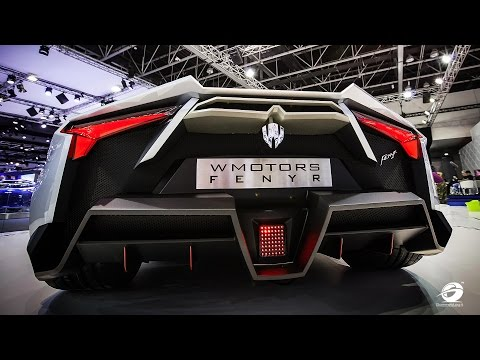 W Motors Arabian Hypercar | Lycan HyperSport + Fenyr SuperSport | THE STORY