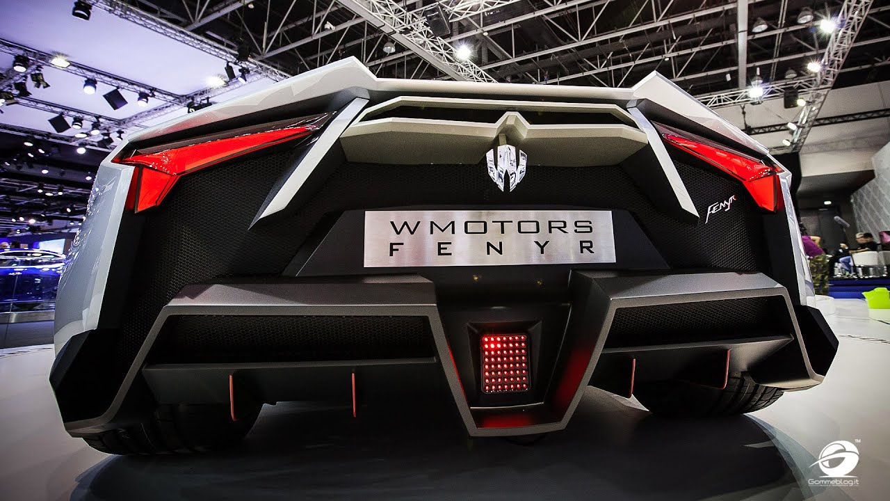 Cars Of Dubai 4k Wallpaper W Motors Arabian Hypercar Lycan Hypersport Fenyr