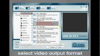 How to convert video and rip DVD with SnowFox DVD & Video Converter