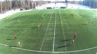 KaaPo 04 keltainen - FC Inter punainen, 3.3..2018  1.puoliaika