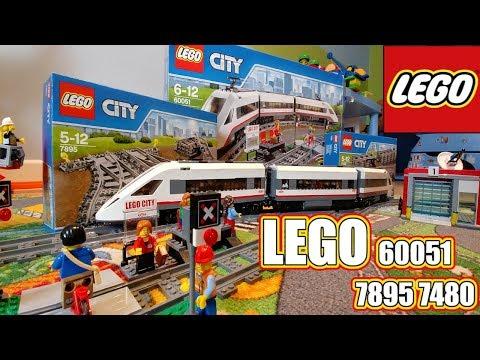 Lego City 60197 Pociąg Pasażerski Rafi Bricks Youtube