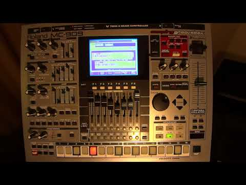 Roland MC-909 - Original Song Demos (1 to 17) - HD Audio / Video  (Part 1)