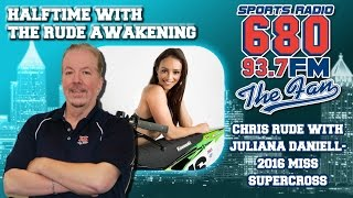 3 to 5 Questions - Chris Rude & Juliana Daniell, Miss Supercross 2016