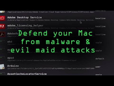 How To: The Paranoid Mac Owner's Guide to Defeating Remote Snooping & Evil Maid Attacks