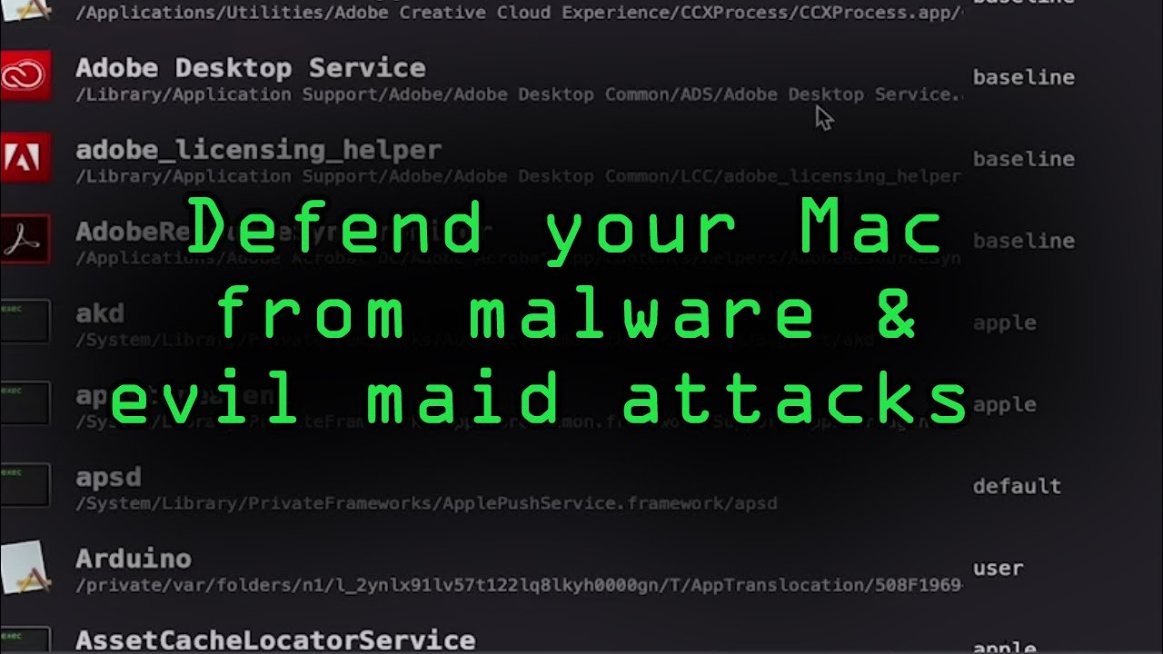 Defend Your MacOS Computer from Malware & Evil Maid Attacks  [Tutorial]