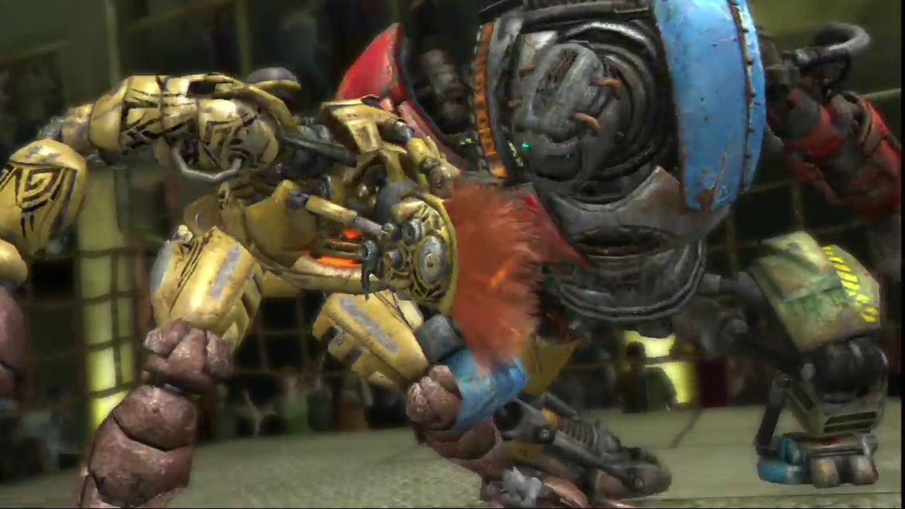 Real Steel Metro Destroys All Robots Ambush Noisy Boy