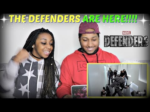 Marvel's The Defenders | Official Trailer 2 REACTION!!!