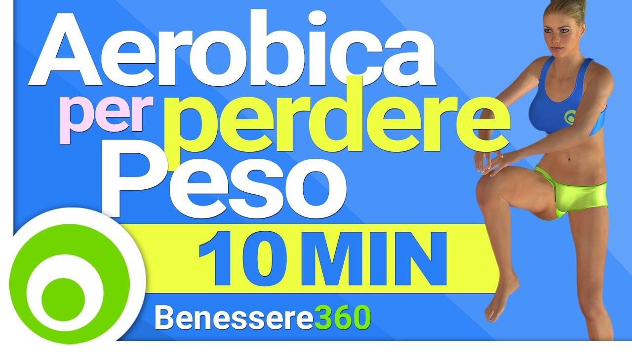 10 minuti di aerobica per perdere peso a casa esercizi for Dimagrire interno coscia benessere 360