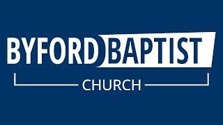 Byford Baptist Church Service - 31/1/2021
