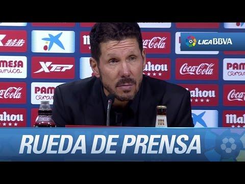 Rueda de prensa de Simeone tras el Villarreal CF (1-0) Atlético de Madrid