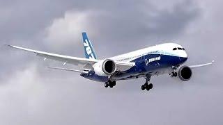 Первый Boeing 787 Внуково посадка руление Прекратите нарушать фразеологию !