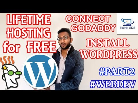 How to Get Free Web Hosting for Lifetime | Connect Godaddy to Freehosting | Install WordPress