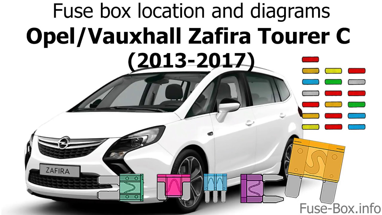 medium resolution of fuse box location and diagrams opel vauxhall zafira tourer c 2013 2017