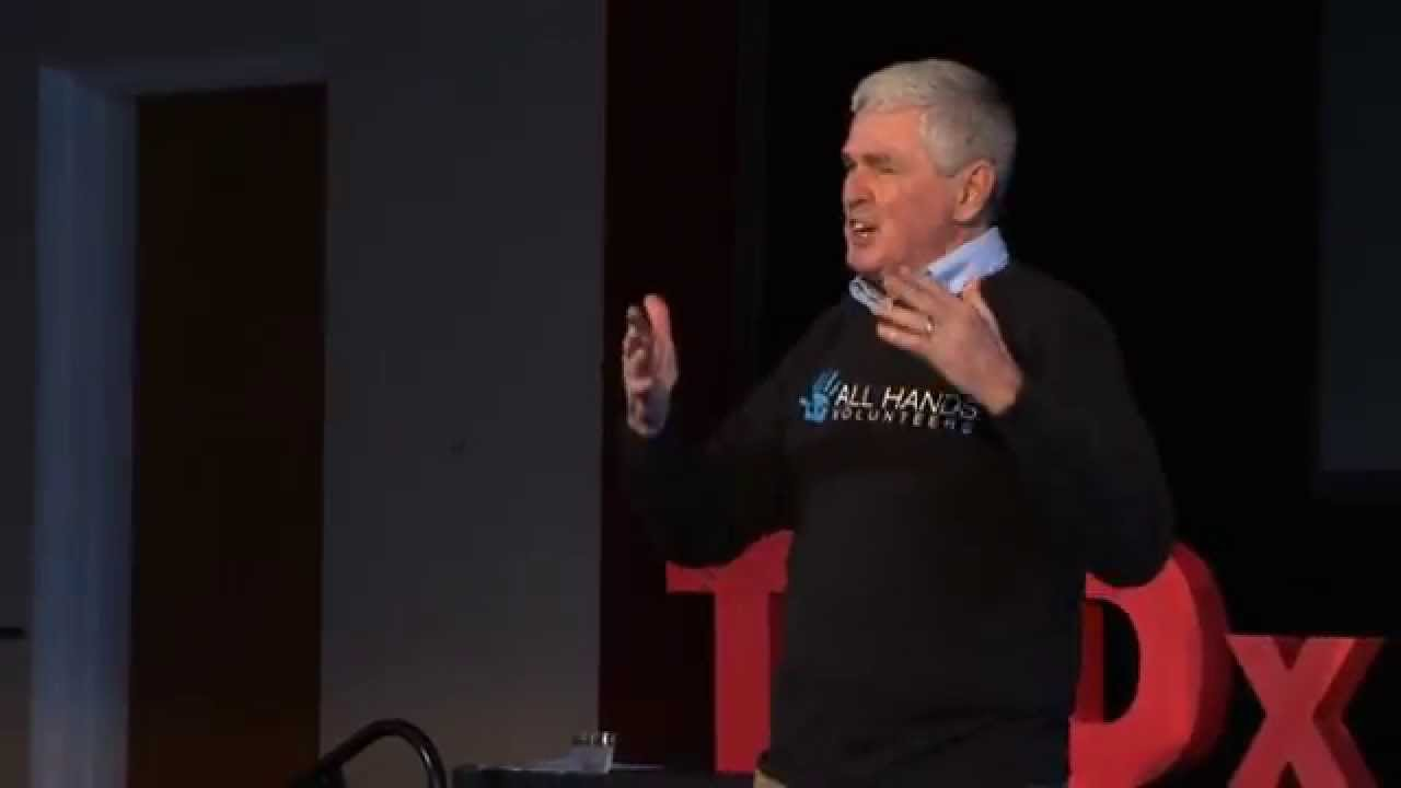Being there - disaster stories: David Campbell at TEDxPiscataquaRiver