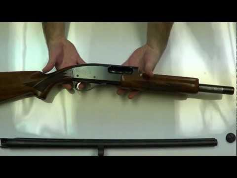 Remington 870 Wingmaster Assemble and Disassemble