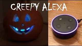 DO NOT ASK ALEXA TO LAUGH ON HALLOWEEN!!