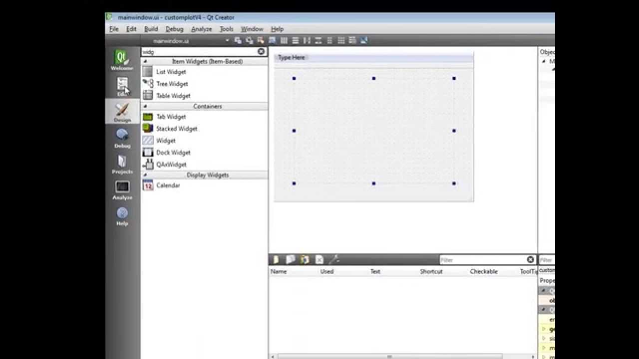 Getting started graph with qtcustomplot in QT 5 1