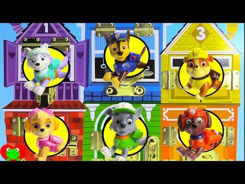 Paw Patrol House On Fire Marshall Rescue