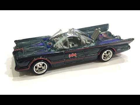 Hot Wheels 2016 TV Series Batmobile Batman Super Treasure Hunt Case J