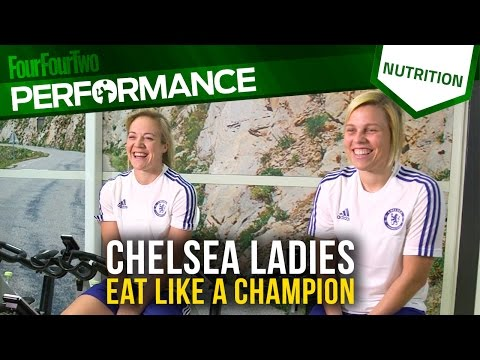 Chelsea Ladies | How To Eat Like A Footballer | Sports Nutrition