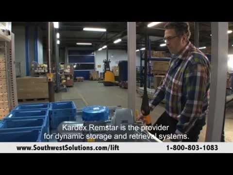 Automated Storage and Retrieval with Integrated Overhead Crane