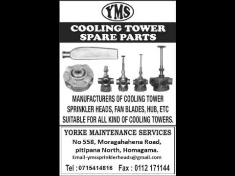 Cooling Tower Spare Parts Manufacturers In Sri Lanka