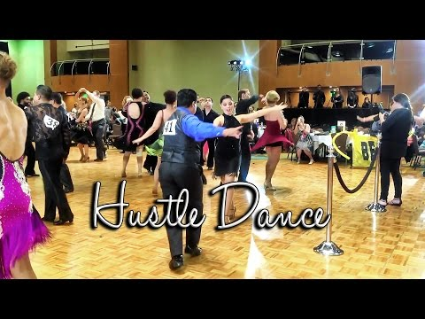 Dancing Hustle - Dance Music - Amanda and Joel dancing Hustle