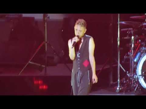 Depeche Mode - &39;Strangelove&39; acoustic Martin L Gore - Madison Square Garden - NYC - 91117