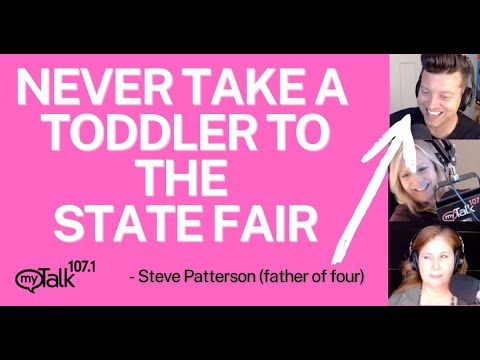 Never Take a Toddler to the Minnesota State Fair