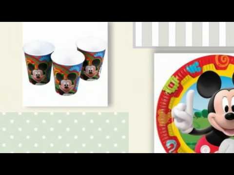 Articulos para fiestas de cumplea os de mickey youtube - Cosas para fiestas de cumpleanos ...