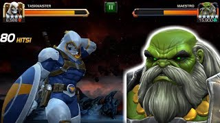 Taskmaster Vs. Arc Overload Maestro! | Marvel Contest of Champions