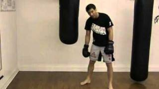 Punching the Heavy Bag – Boxing Basics – Double Cross