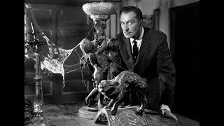 Goth Horror movie icon VINCENT PRICE 2.16.19