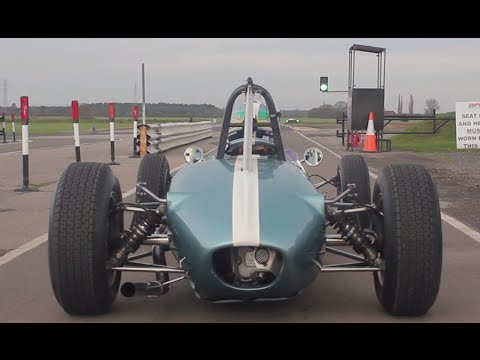 Vintage Racing in a 1963 Brabham BT6 -- /DRIVEN