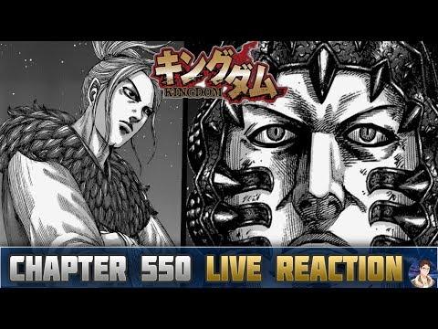 Kingdom キングダム Chapter 550 Manga LIVE REACTION - ZHAO'S UNDERESTIMATION OF QIN!!