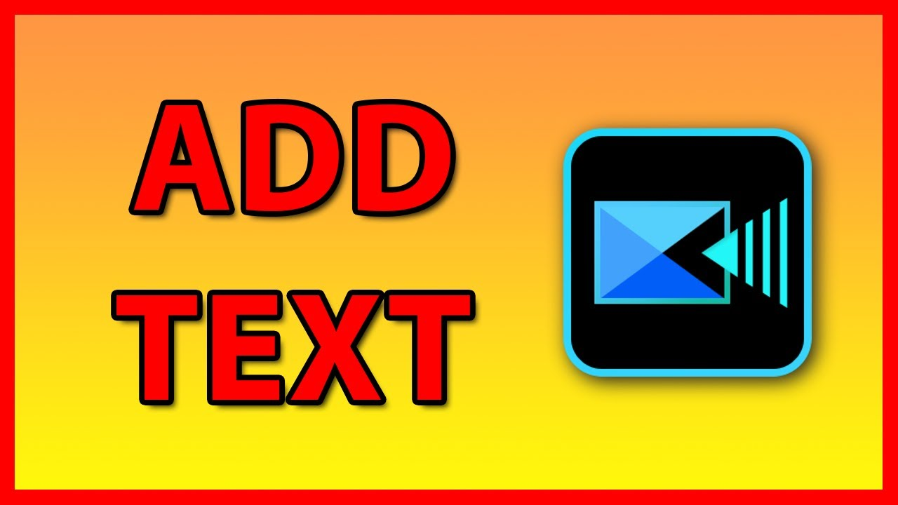 How to add Text to a video in PowerDirector 19 - Tutorial