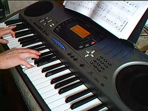 Unbirthday Song on Casio ctk 671 keyboard