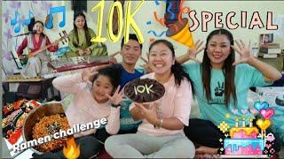 10k Special CELEBRATIONS/ Ramen challenge/Songs/Tibetan vlogger