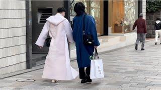 Уличная мода в Токио. Что носили японцы в январе. Мужской стрит стайл и не только.
