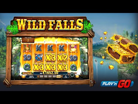 wild falls online slot spielen