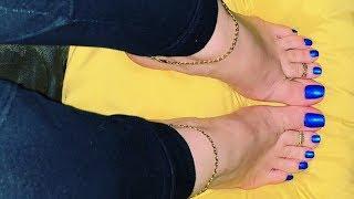 Beautiful stylish foot jewelry designs 2019
