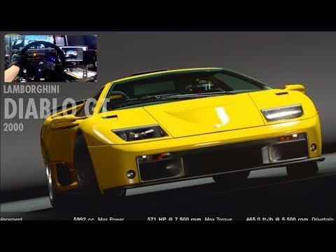 """GT Sport """"UPDATE""""  Ferarri Flat12 vs Lamborghini V12 100% FFB Fanatec Wheel"""