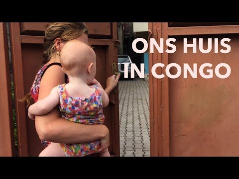 Ons HUIS in CONGO 🇨🇩 (hometour) // VLOG #11