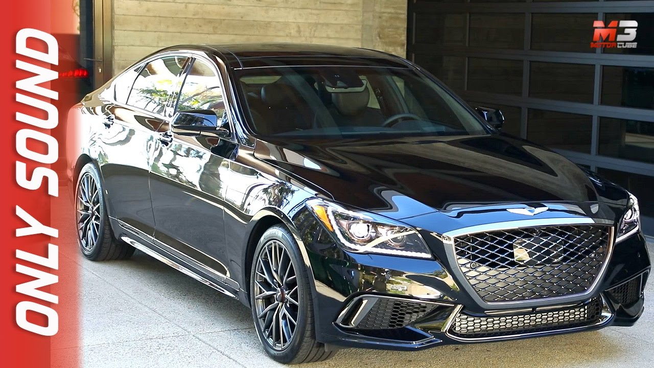 New Genesis G80 Sport 2017 First Test Drive Only Sound